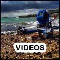 Videos FPV de freestyle y racing Drones