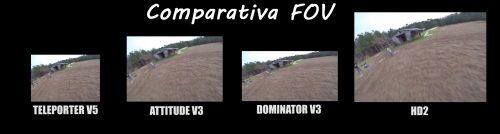 Comparativa fov fpv