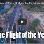 Vídeo épico - Flight of the year