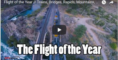 Vídeo épico - Flight of the year