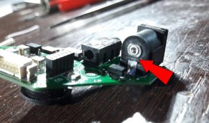 Modificación modulo gafas FatShark para botón