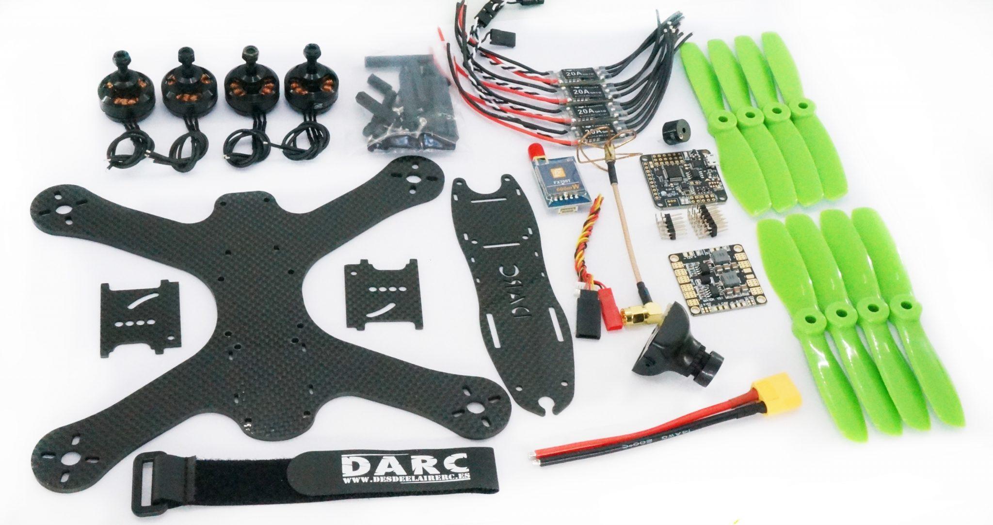 Kit piezas Drone de carreras - Drone racing