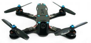 Drone de carreras montado