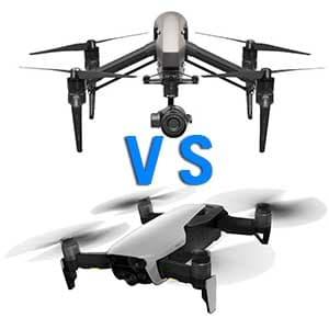 Comparacion Drones Profesionales