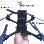 Colocación antenas Drone Long Range