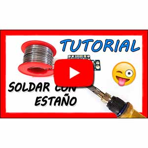 Video soldar con estaño